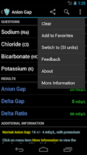 MediCalc Medical Calculator - screenshot thumbnail