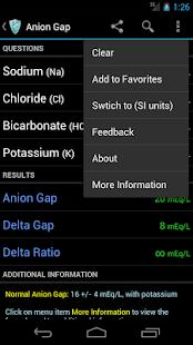 MediCalc Medical Calculator- screenshot thumbnail