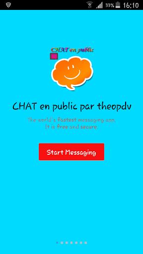 messenger CHAT public ou privé