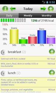 SmartFoodTracker - Food Logger - screenshot thumbnail