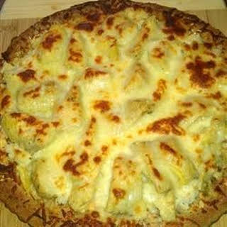Crab-Artichoke Pizza.