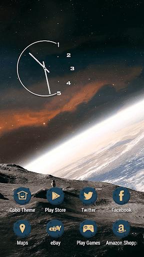 星級旅遊月亮銀河主題