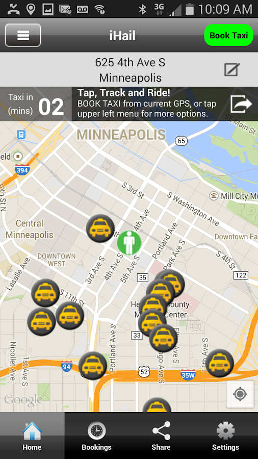 iHail Minneapolis - screenshot