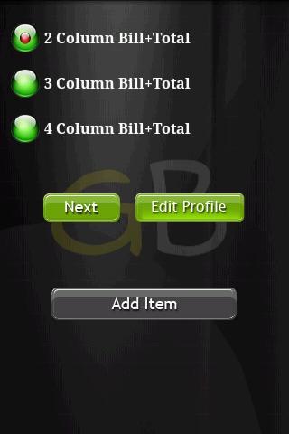 GreenBillPro- screenshot