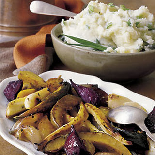 Herbed Roasted Winter Vegetables.