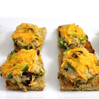 Skinny, Mini Tuna Melts