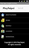 Screenshot of PlayTaipei (Engilsh Version)