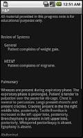 Screenshot of Smart Medical Apps H&P Pro Key