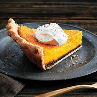 Kabocha Squash Crème Fraîche Pie