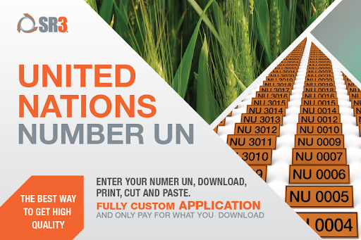 NU - United Nations Number