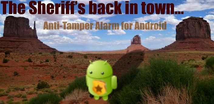 Sheriff: Anti-Tamper Alarm