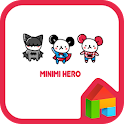 Minimi Hero(white) dodol theme icon