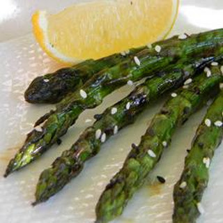 Grilled Asian Asparagus