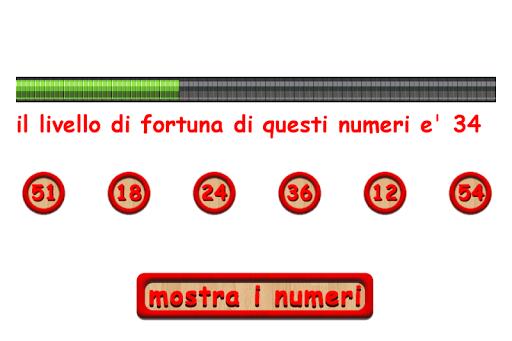 Sei Numeri Fortunati