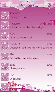 GO SMS Pro Bird Lover Theme - screenshot thumbnail