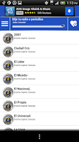 Screenshot of Venezuela Guide Radio n News