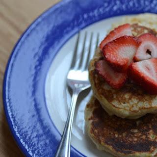 Whole Wheat Buttermilk Pancakes.