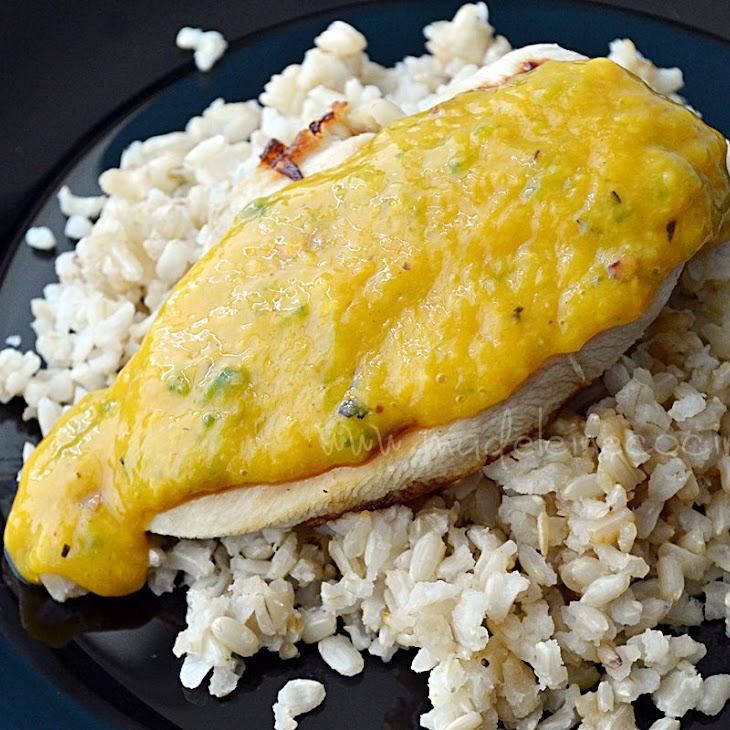 Chicken with Mango Sauce