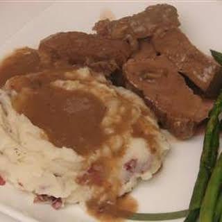 Roast Beef and Gravy.