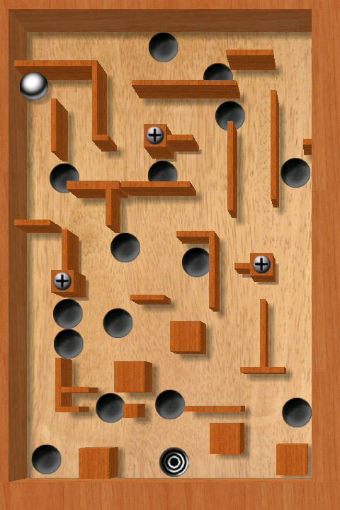 aTilt 3D Labyrinth Free- screenshot
