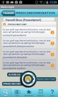 Screenshot of Medicintjek