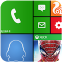 imitate Windows Phone 8 theme icon