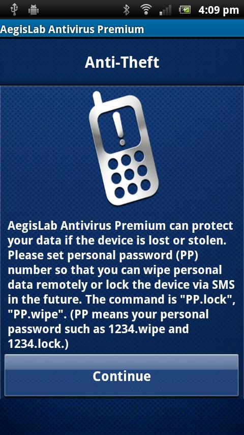 AegisLab Antivirus Premium - screenshot
