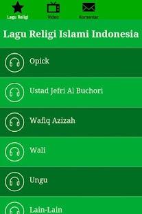 玩免費音樂APP|下載Lagu Religi Islami Indonesia app不用錢|硬是要APP