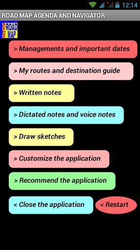 Roadmap Agenda Free