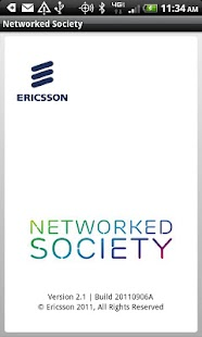 Ericsson Networked Society- screenshot thumbnail