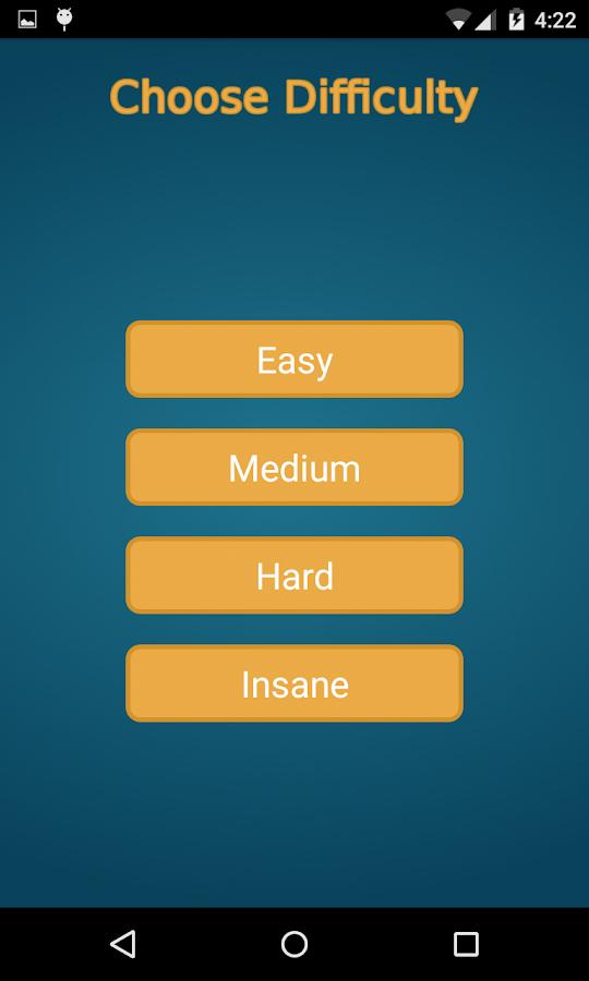 Nim Game - screenshot