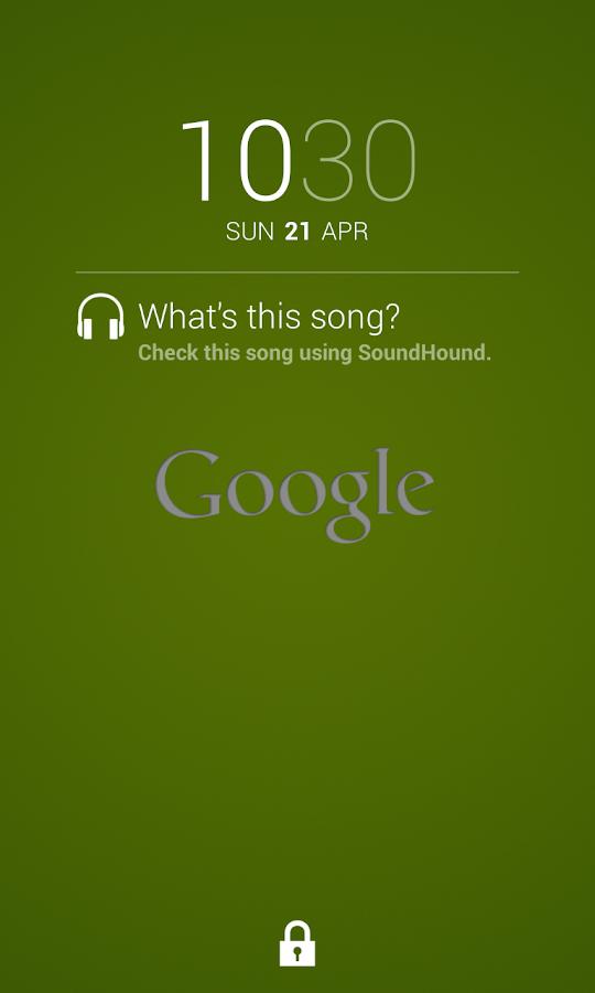 Sound Search for DashClock - screenshot