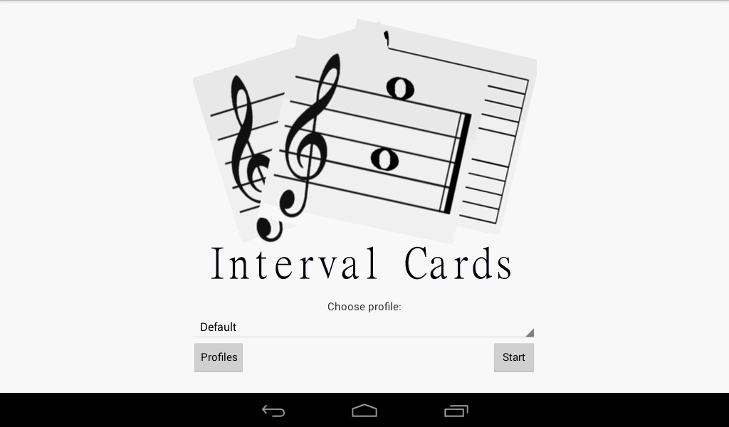 Interval Cards Theory - Free- screenshot