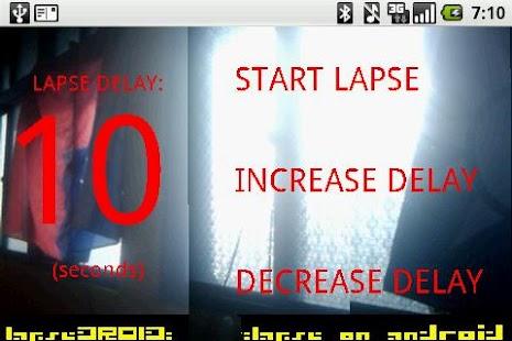 LapseDROID (lite)- screenshot thumbnail