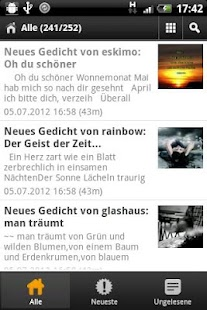 Gedichte von Reimemaschine.de - screenshot thumbnail