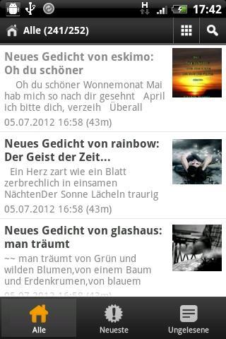 Gedichte von Reimemaschine.de - screenshot