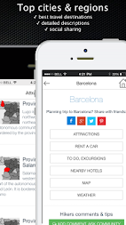 Spain travel guide offline map APK screenshot thumbnail 3