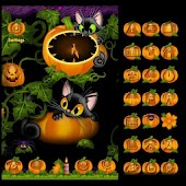 ADW Theme Kitty and Pumkin