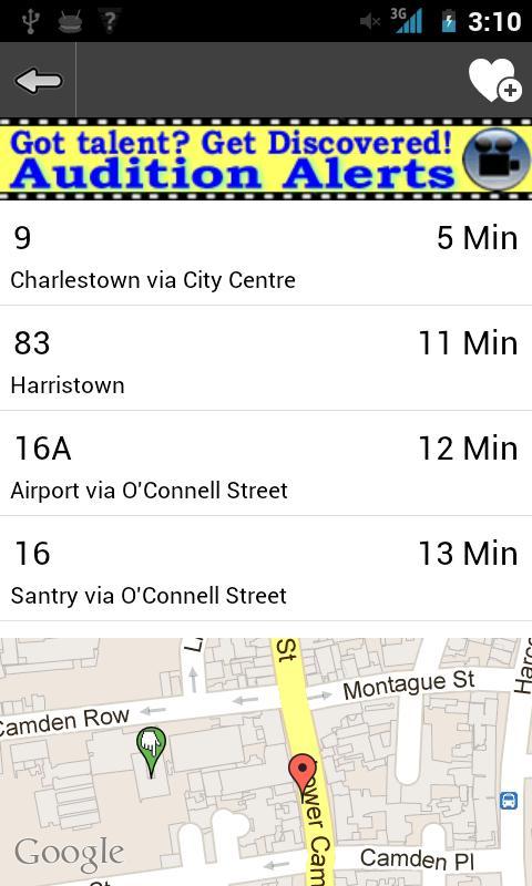 Bus Time Dublin - screenshot