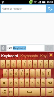 GO Keyboard China National Day - screenshot thumbnail