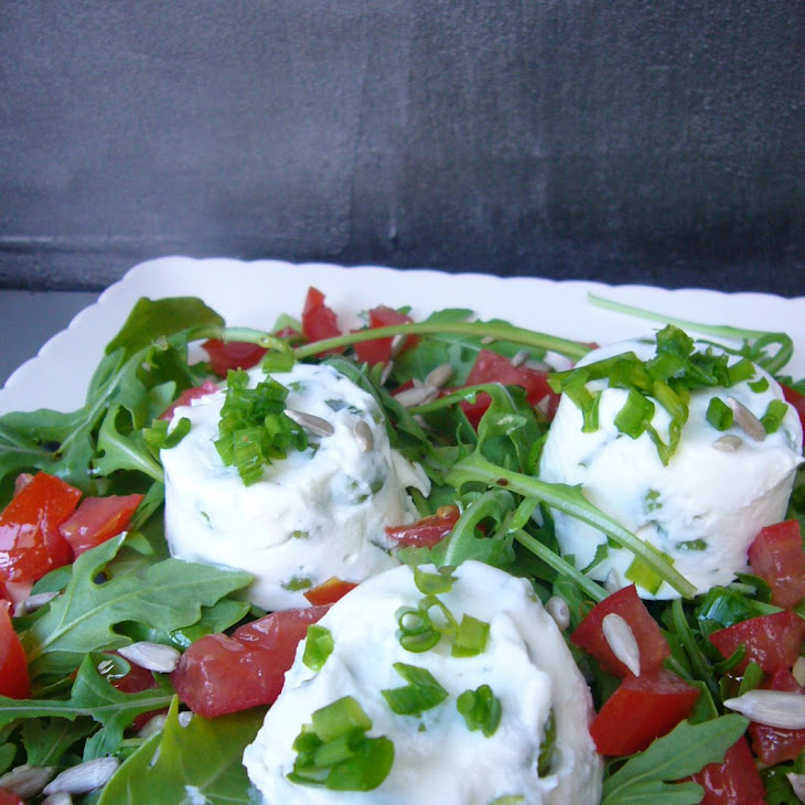 Small Goat Cheese and Fresh Peas Flans Recipe