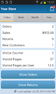 OpenCart Mobile Sales screenshot 0