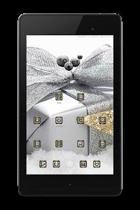 SilverGold 3D Icon CM&Launcher v1.0