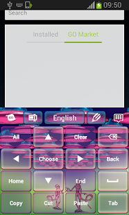 Keyboard Alien Pink - screenshot thumbnail