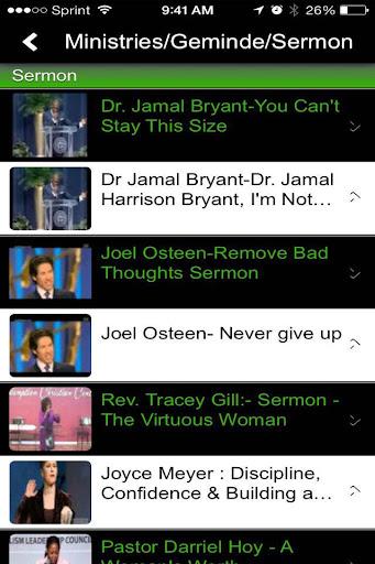 Sermons on the GO