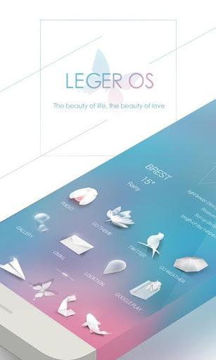 Leger OS GO Launcher Theme