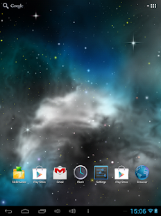 Galaxy 3D Parallax Wallpaper - screenshot thumbnail