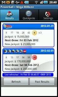 Powerball + Mega Millions - screenshot thumbnail