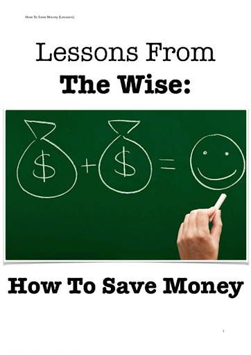 How To Save Money FREE