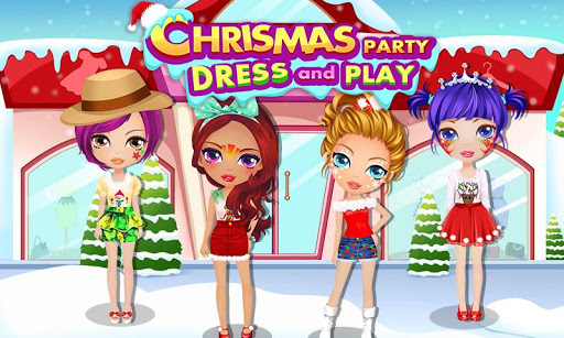 Christmas Doll Dress Up Party
